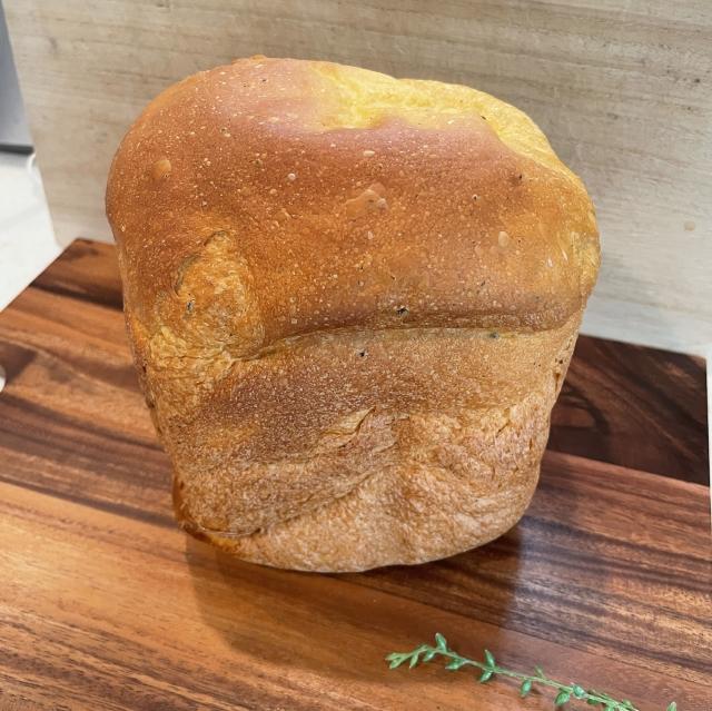 HBで作る市販のミートソースをつかったお手軽ミートソース食パン2