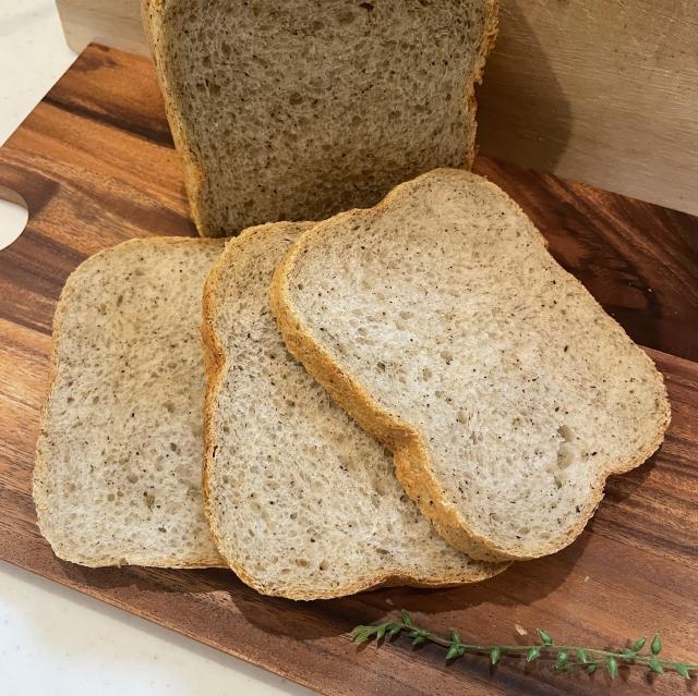 HBで作るミルクたっぷりの紅茶香るダージリンの食パン