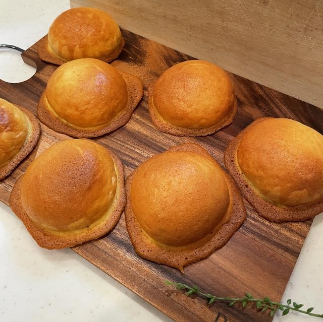 ミルクととろけるクッキー生地で作る子供に人気のぼうしパン