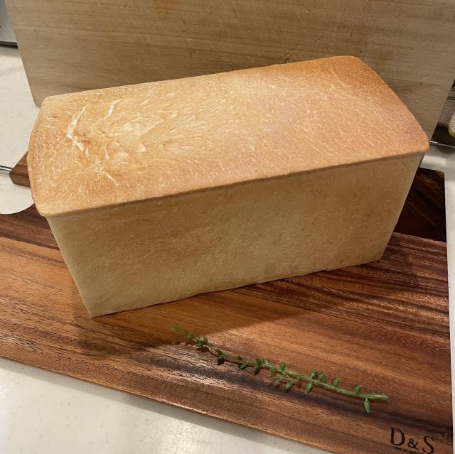 二斤の食パン型で焼くあんこ入り食パン10