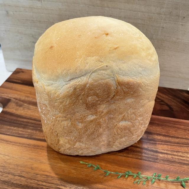 HBで作るめいらくさんのコーンポタージュを使った食パン3