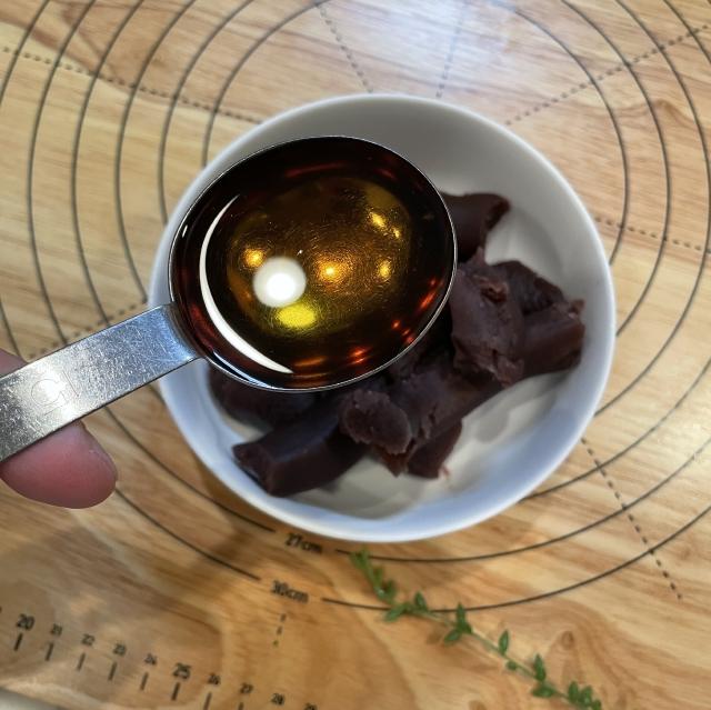 和風スイーツには欠かせない栗の甘露煮と抹茶のあんぱん5