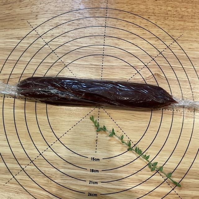 和風スイーツには欠かせない栗の甘露煮と抹茶のあんぱん6