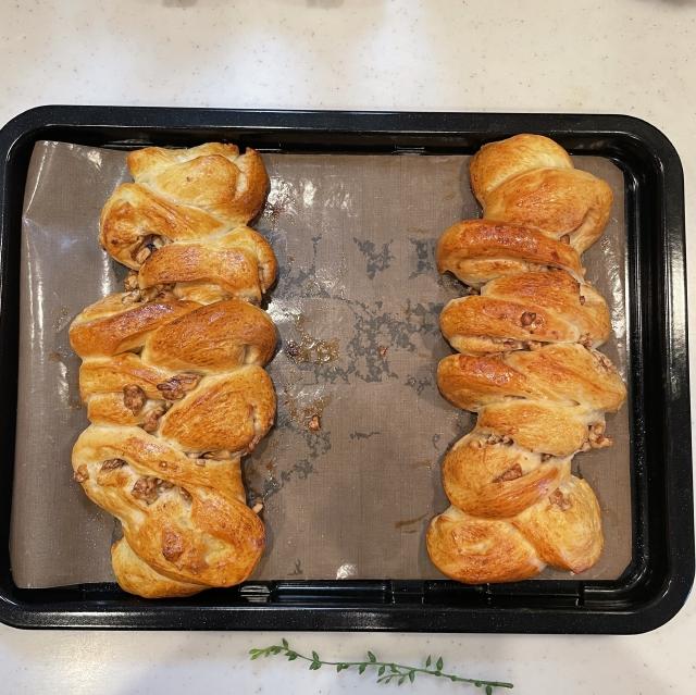 メープルシロップの優しい甘さとナッツを楽しむメープルウォルナッツ9