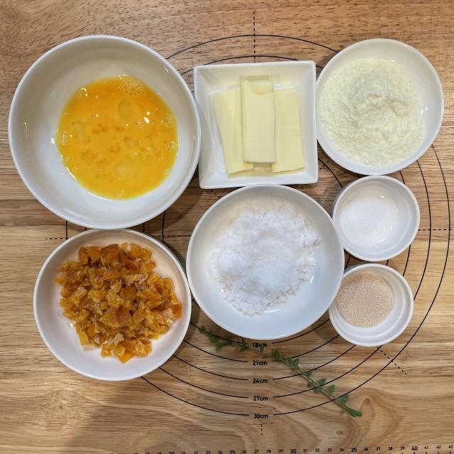 爽やかオレンジの酸味と甘みが広がるワンノットオレンジピールパン2