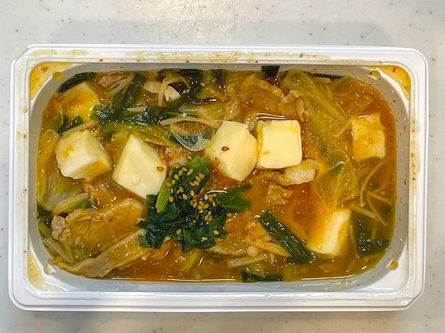 韓国のオモニが指南した本場韓国の味を再現した旨味たっぷりのキムチチゲ4